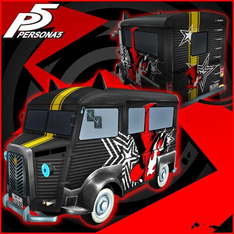 Persona 5: Phantom Thieves Logo Morgana Car Sticker