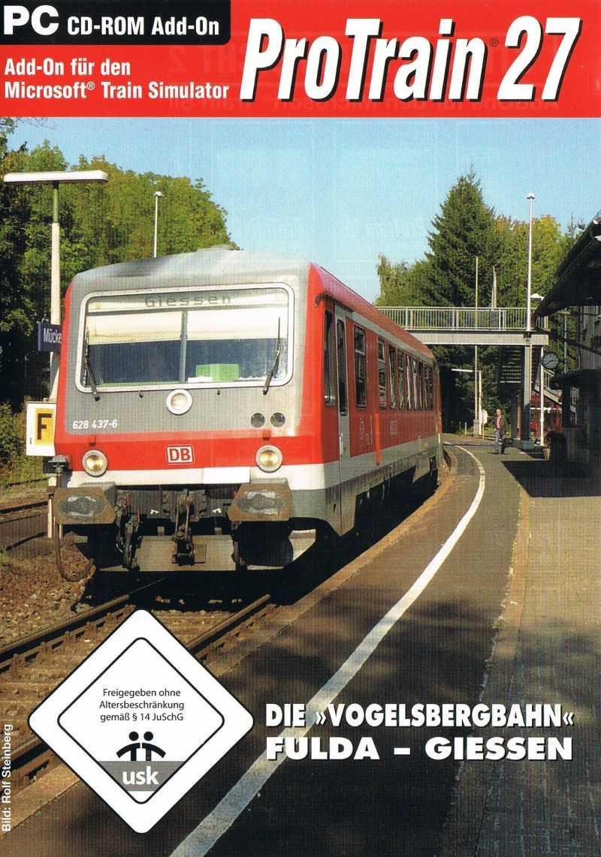 ProTrain 27: Die »Vogelsbergbahn« Fulda - Giessen