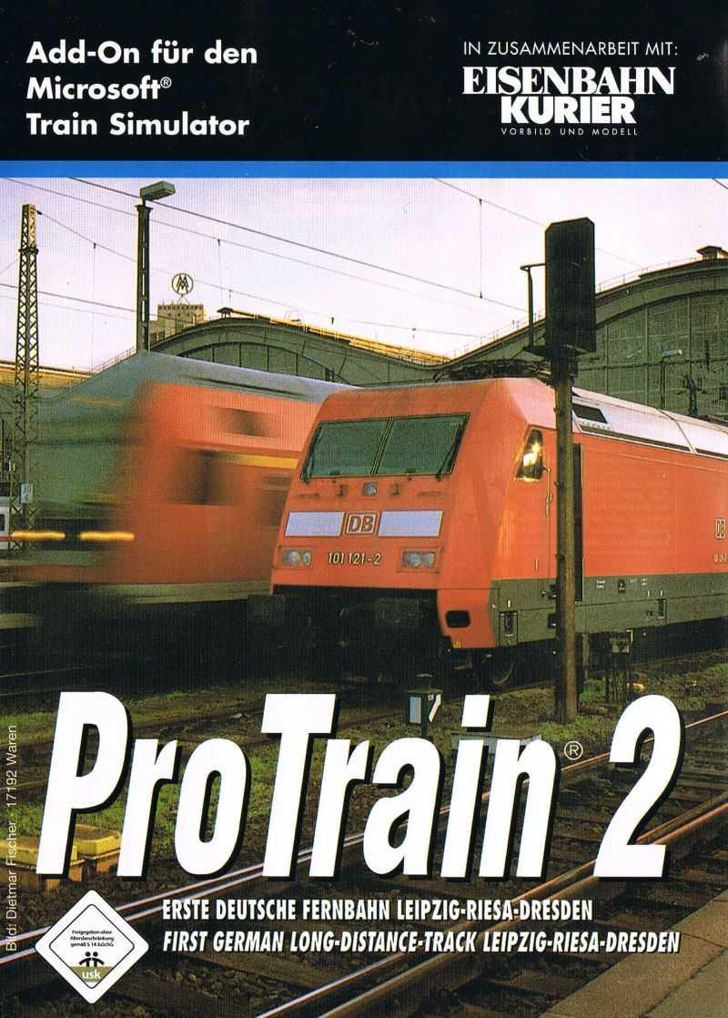 ProTrain 2: First German Long-Distance Track Leipzig-Riesa-Dresden