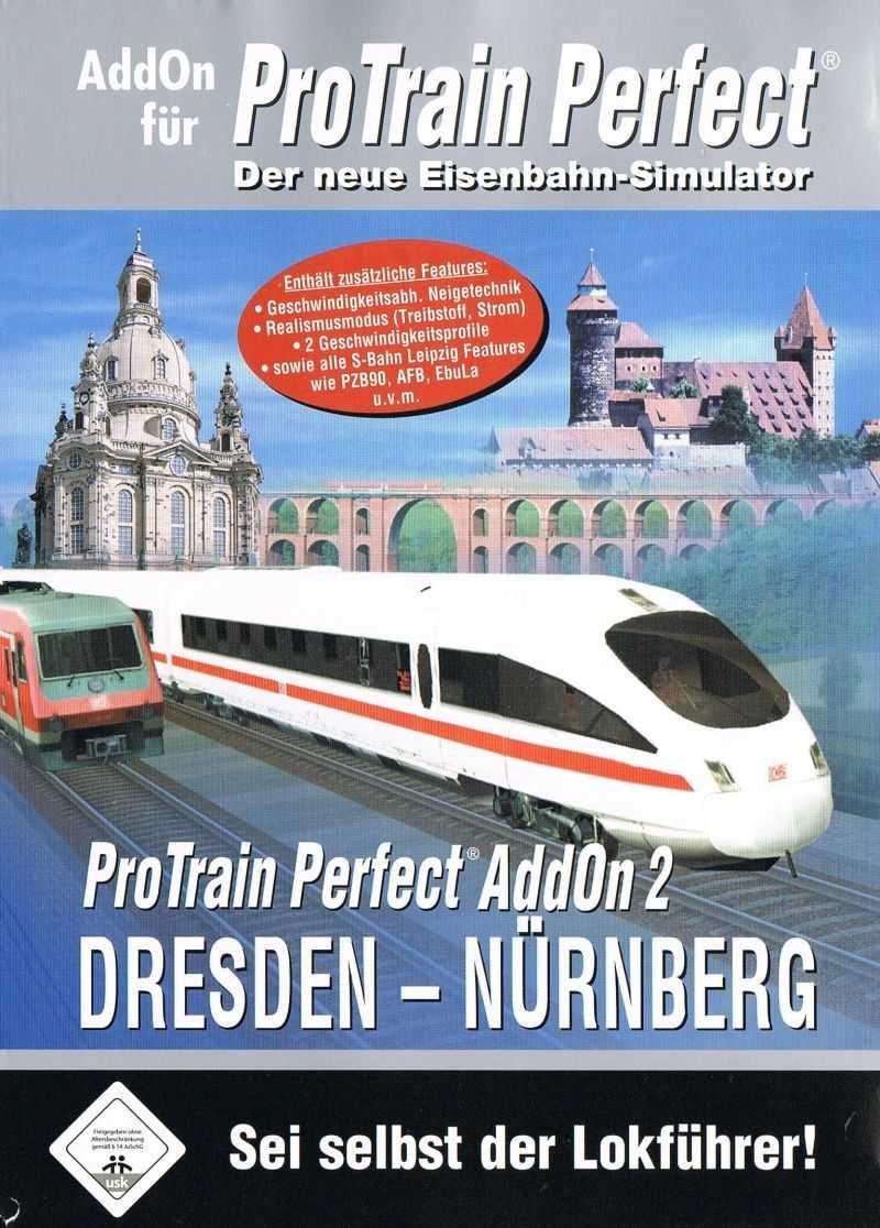 ProTrain Perfect AddOn 2: Dresden-Nürnberg