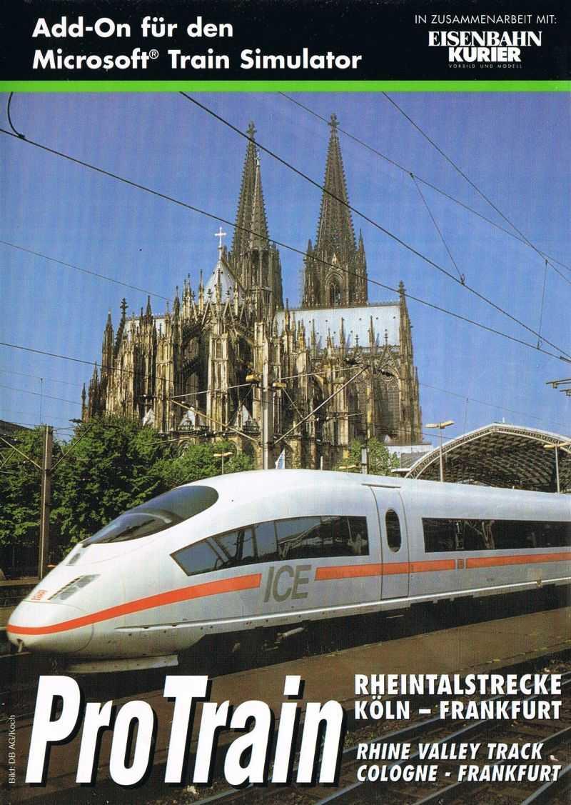 ProTrain: Rhine Valley Track - Cologne-Frankfurt