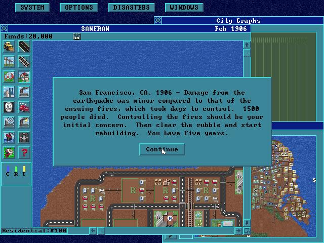 SimCity: Enhanced CD-ROM