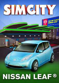 SimCity: The 100% Electric Nissan Leaf