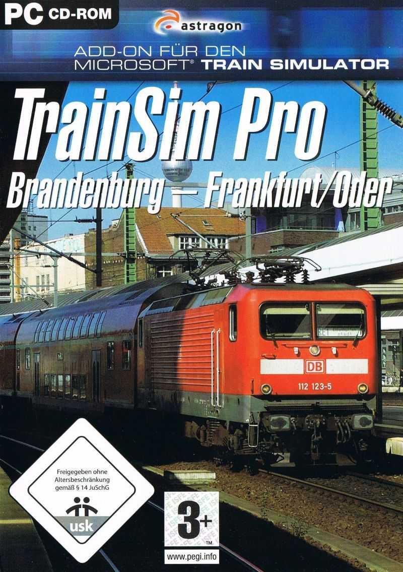 TrainSim Pro: Brandenburg - Frankfurt/Oder