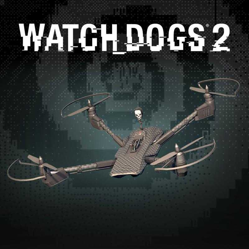Watch_Dogs 2: Chameleon Copter Decal