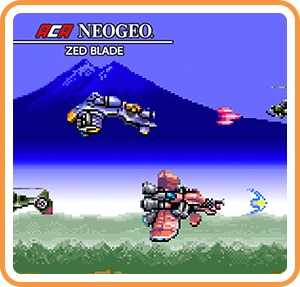 ACA NeoGeo Zed Blade