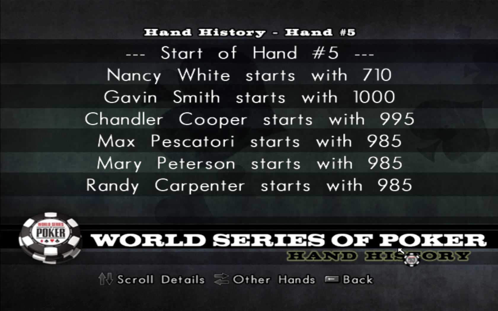 World Series of Poker 2008: Battle for the Bracelets?