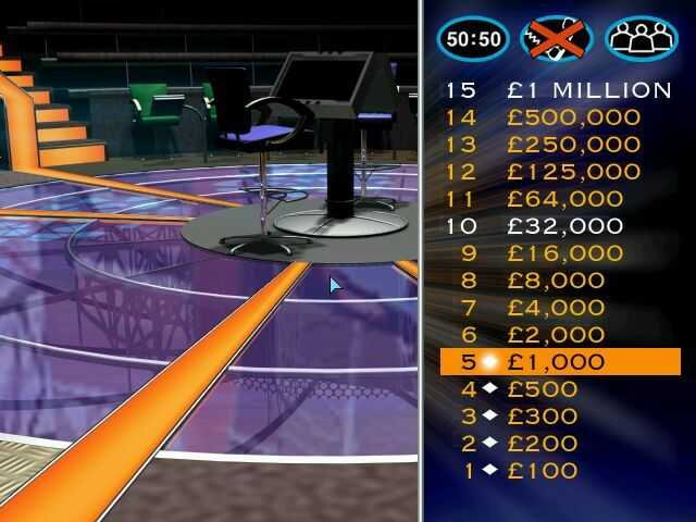 Who Wants To Be A Millionaire: UK Edition