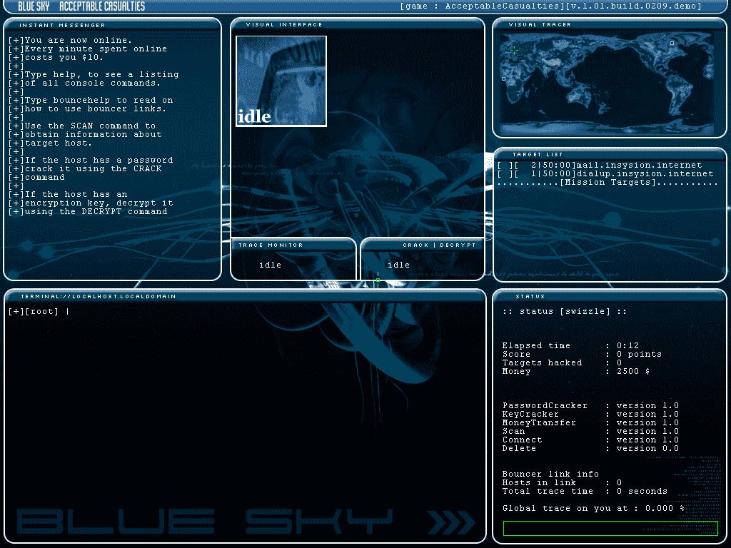 Blue Sky: Acceptable Casualties