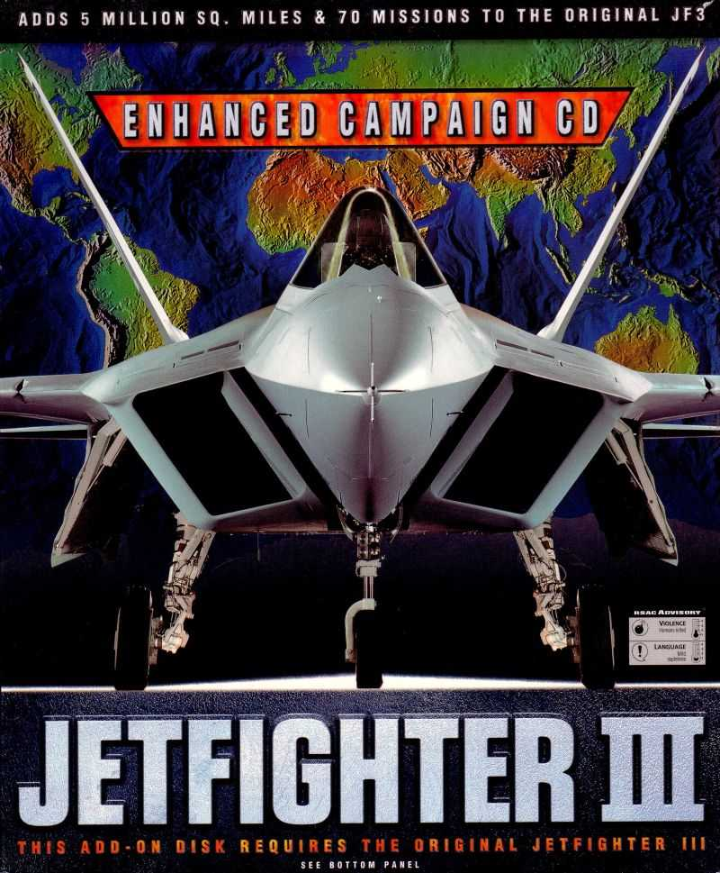 JetFighter III Enhanced Campaign CD