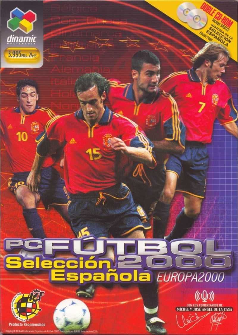 PC Fútbol Selección Española Europa 2000
