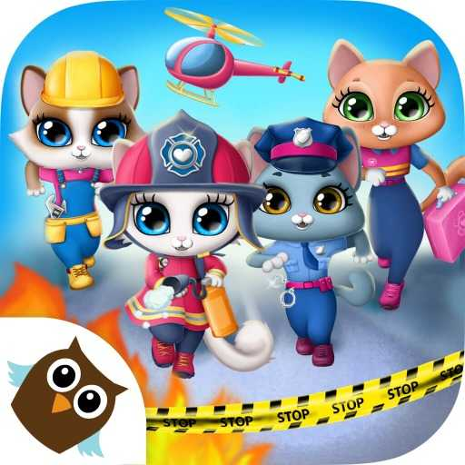 Kitty Meow Meow City Heroes - Cats to the Rescue!