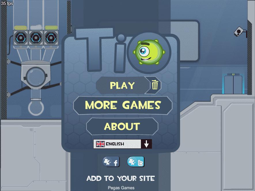 web browser game: tio