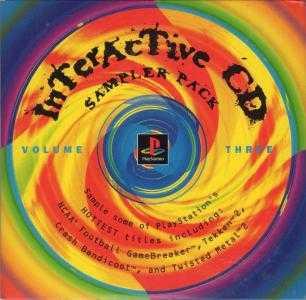 Interactive CD Sampler Disc Volume 3