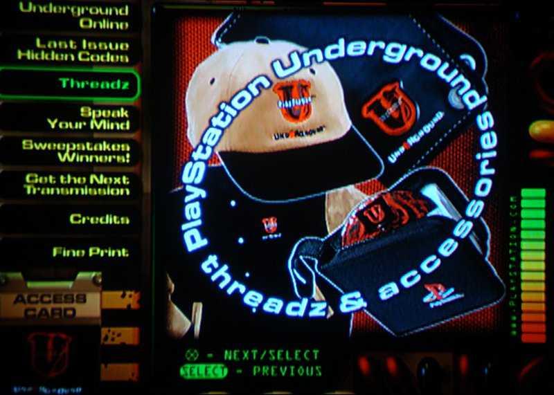 PlayStation Underground Volume 1 Issue 4
