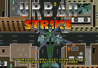 Urban Strike - The Sequel to Jungle Strike
