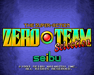 Zero Team Selection