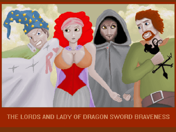 Lords and Ladies of Dragon Sword Braveness