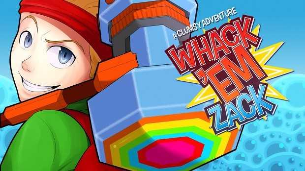 Whack 'Em Zack - A clumsy adventure