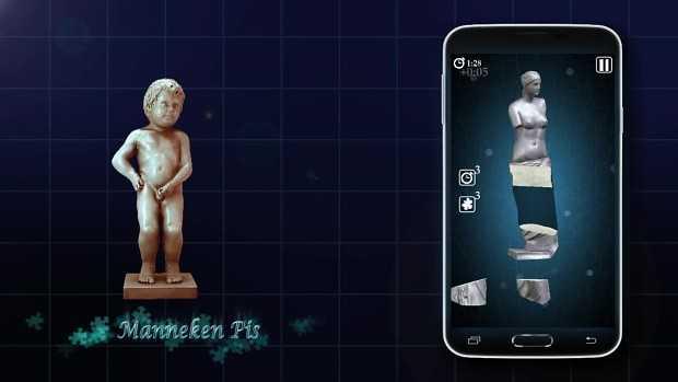 3DPuzzle : Statues
