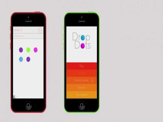DropDots : The Colors Game