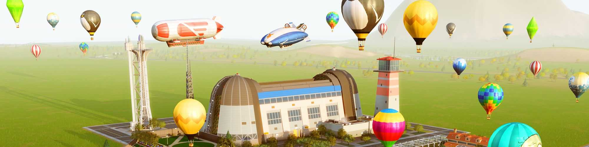 Simcity Airships Set