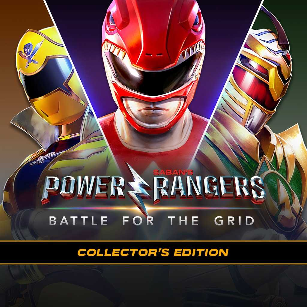 Power Rangers: Battle For The Grid - Collector's Edition