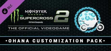 Monster Energy Supercross 2 - Ohana Customization Pack