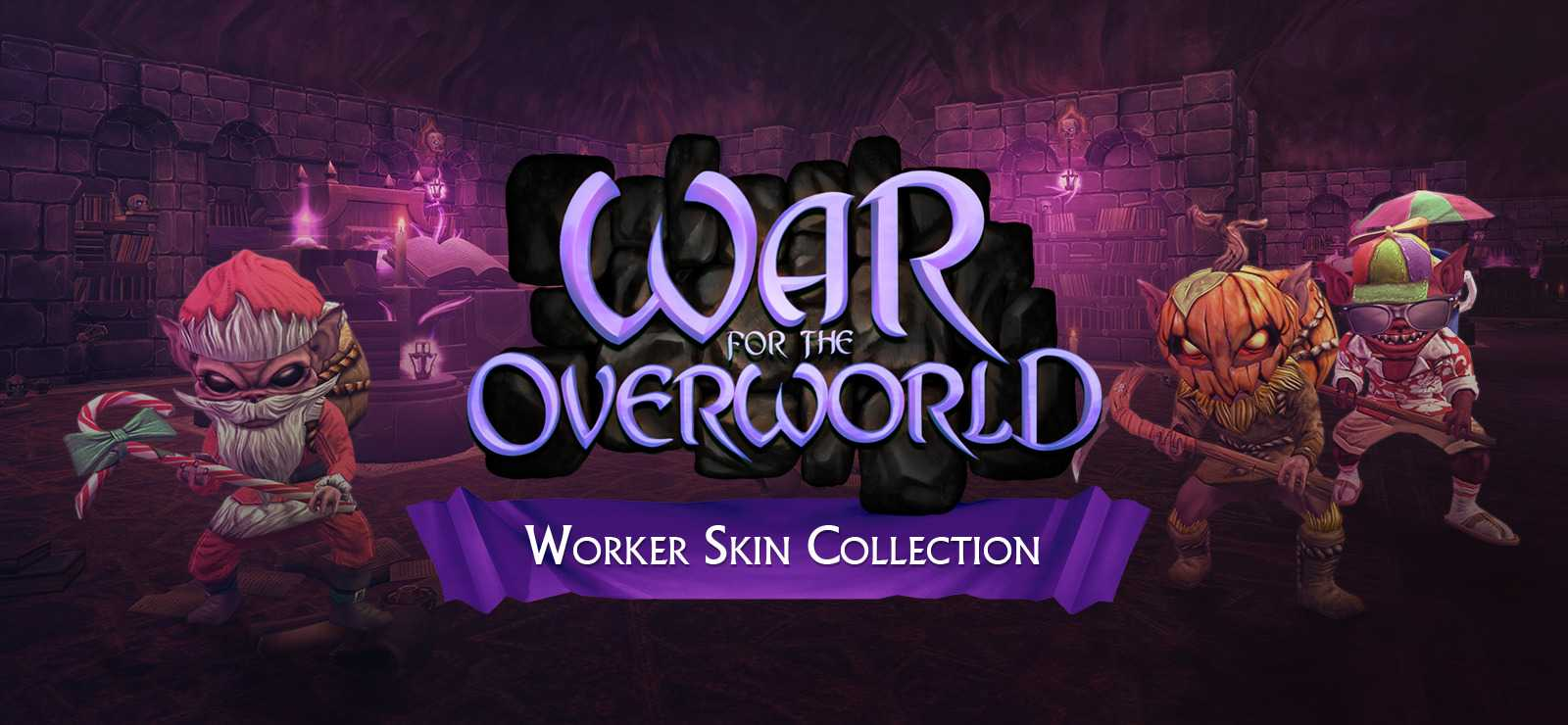 War for the Overworld: Seasonal Worker Skins
