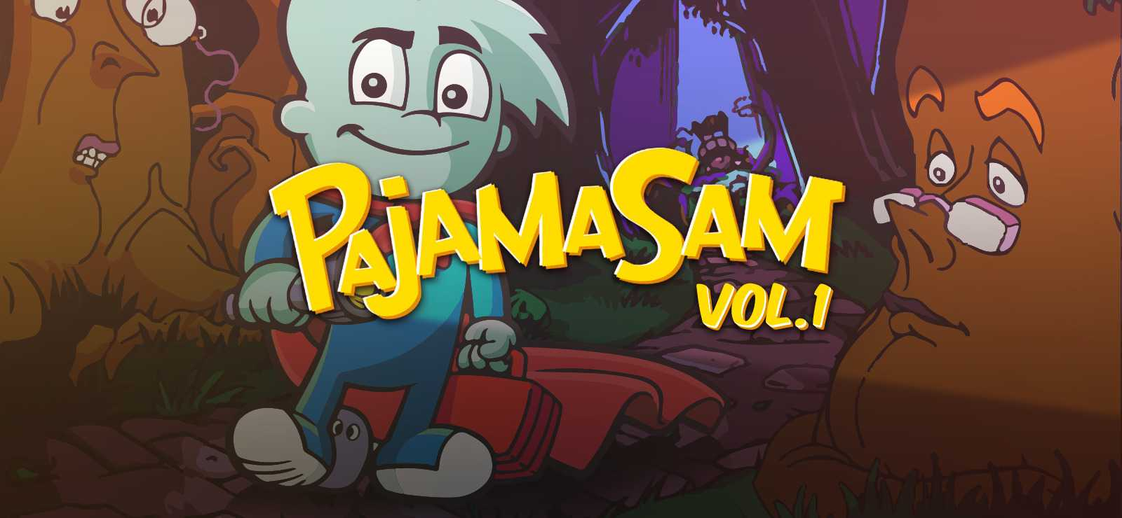 Pajama Sam Vol. 1