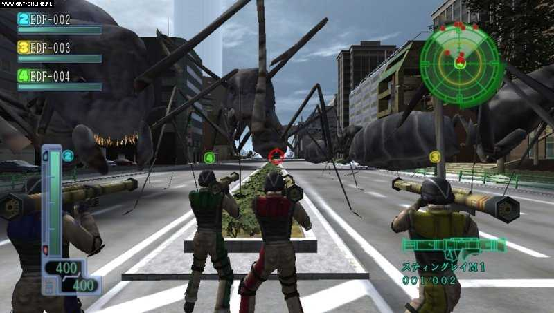 Earth Defense Force 3: Portable