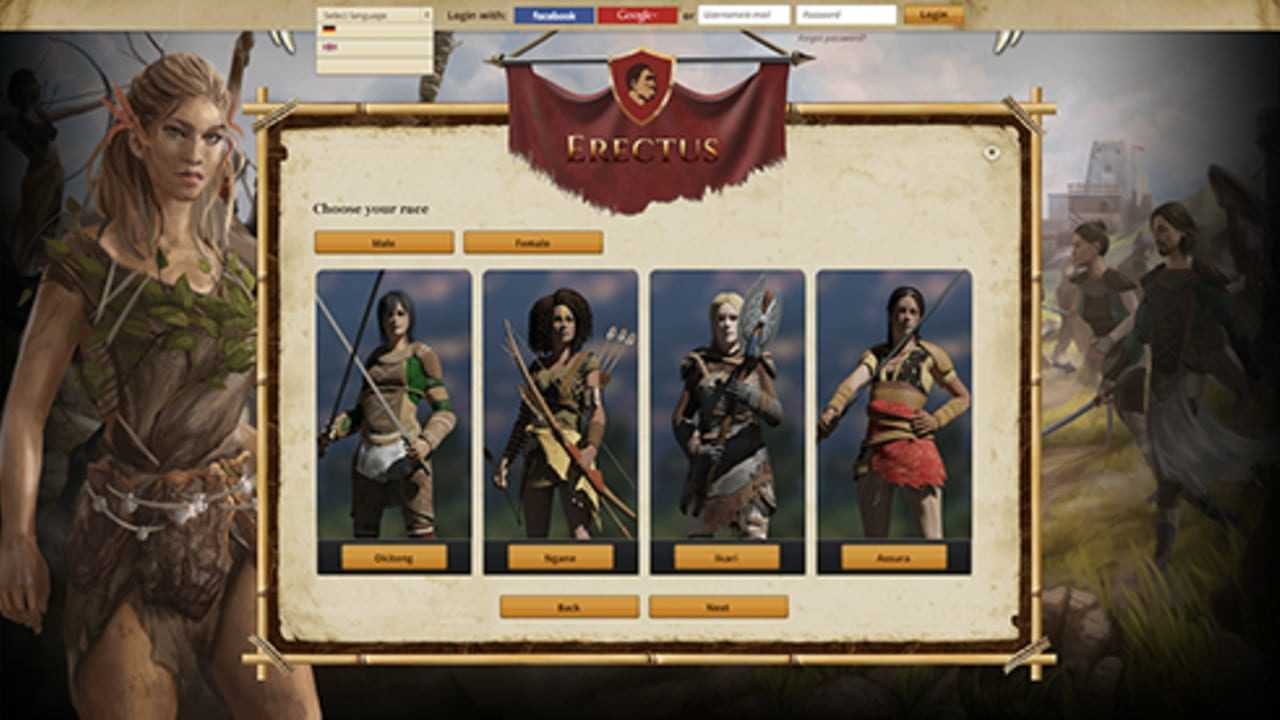 Erectus the Game