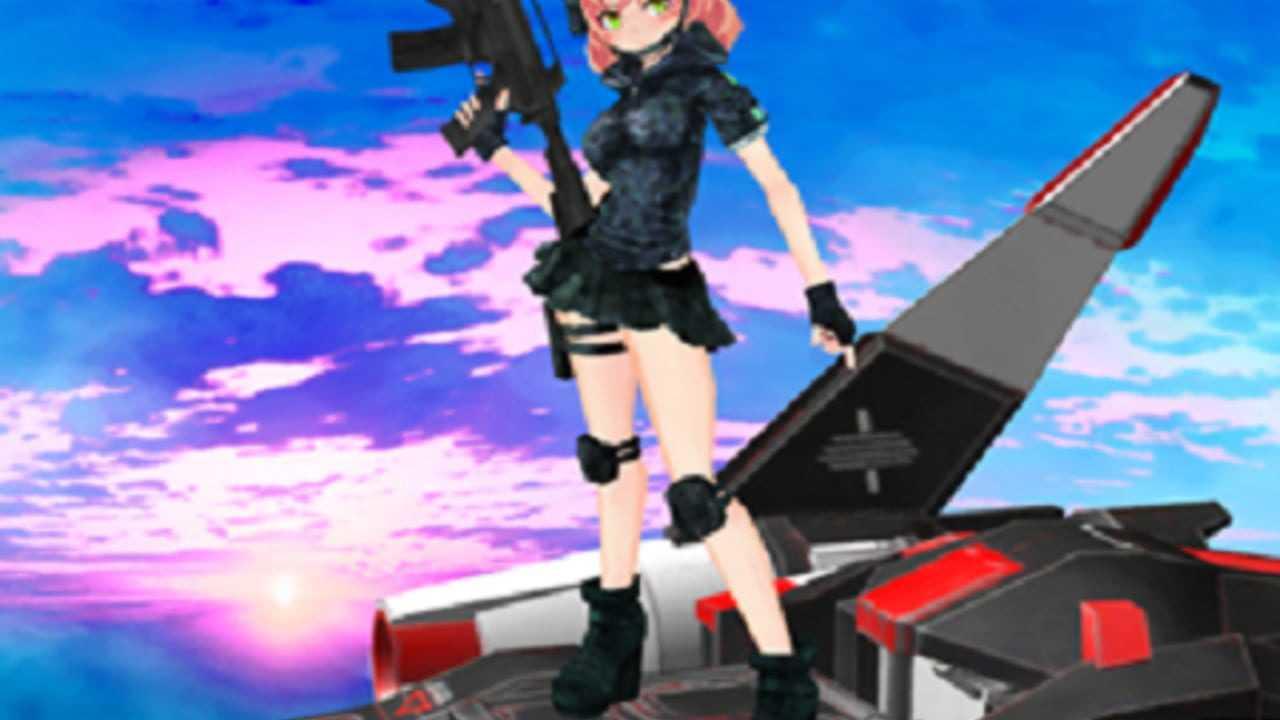 Flying Girl Striker