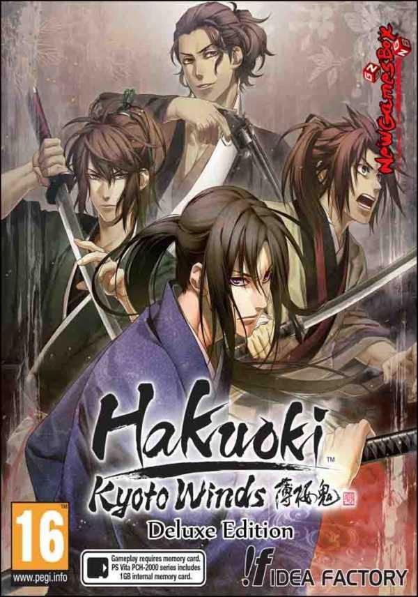 Hakuoki Kyoto Winds Deluxe Edition