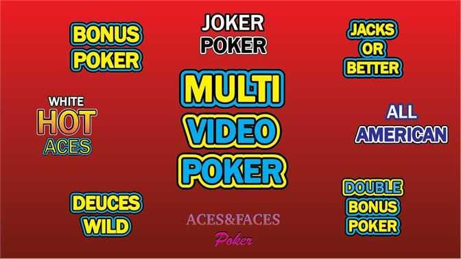 MULTI VIDEO POKER OFFLINE FREE!