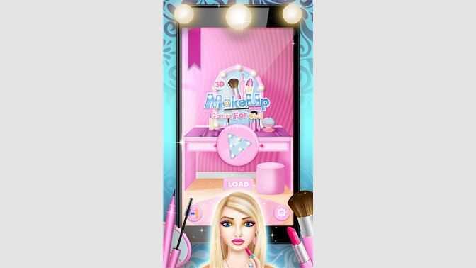 3D Makeup Games For Girls