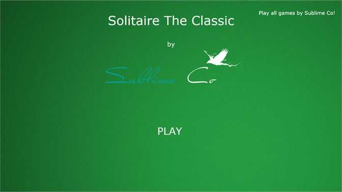 Solitaire The Classic