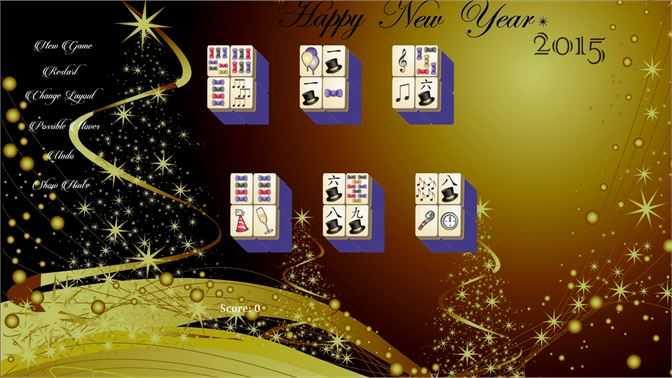 New Years Mahjong