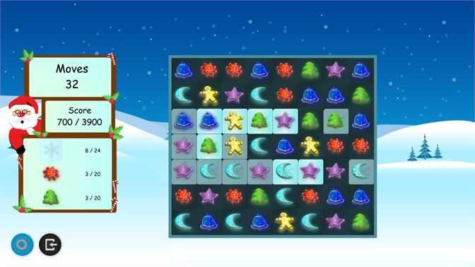 Christmas Cookies Match