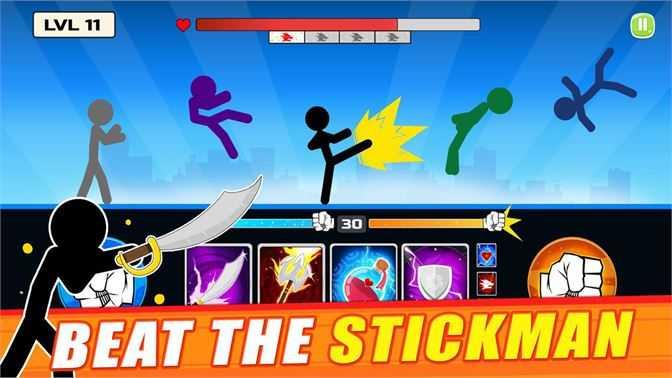 Stickman Shadow Fighter