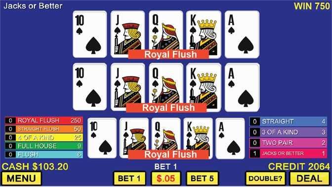 Triple Hand Video Poker