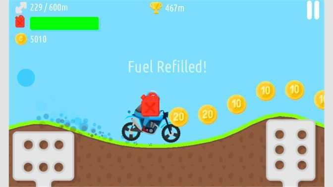 Hill Climb Bike Racing