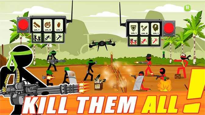 Stickman Warriors - Avengers Fight
