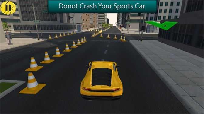 Sports Car Parking Simulator 2019