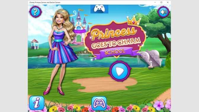 Disney Princess Games and Barbie Games