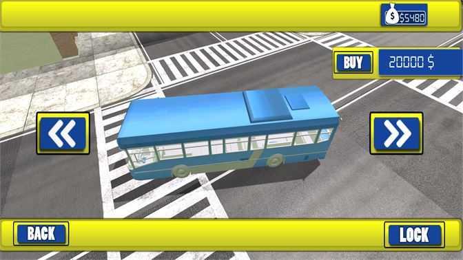 Public Transporter Coach Bus Driving Sim
