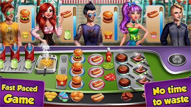 Restaurant Fever : Cooking Food Street