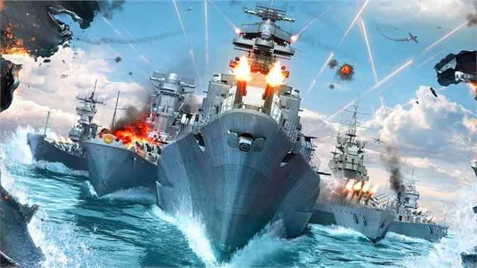 Sea Battle Warships Battlefields