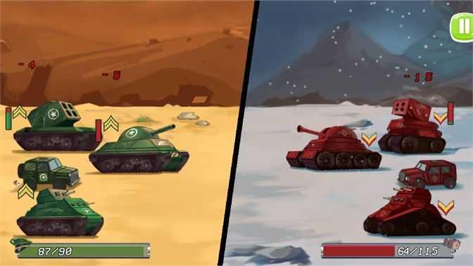 Tanks Battle Royale Clash
