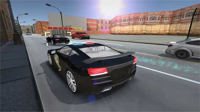 Police Car Chase Driving Simulator